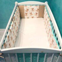 Бортики в кроватку Cute Teddy — Маро