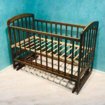 Детская кроватка Lama — Орех