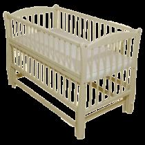 Детская кроватка DUBOC ELIT без ящика — Ivory