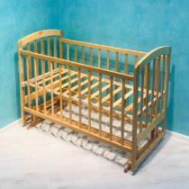 Детская кроватка Lama — Натуральный