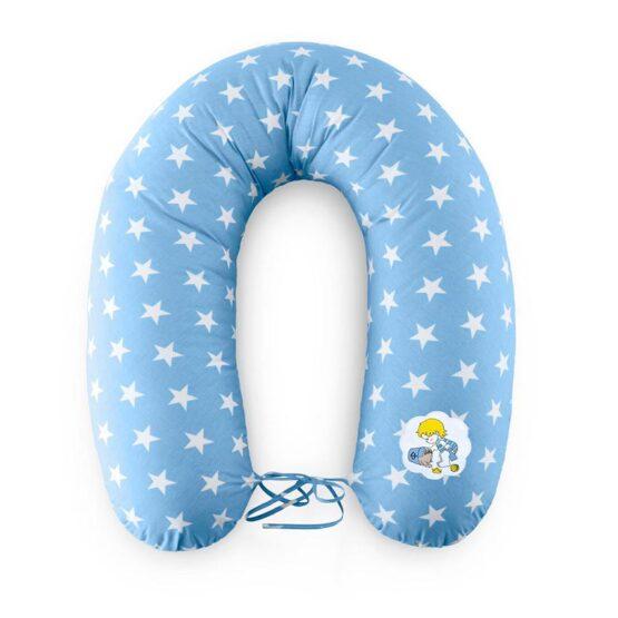 Pernă pentru gravide / alăptare – Albastru