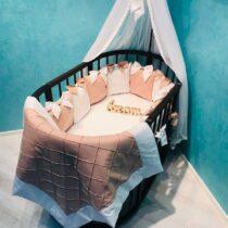 Set de lenjerie 12 pernute BabyTerra Dream – Maro