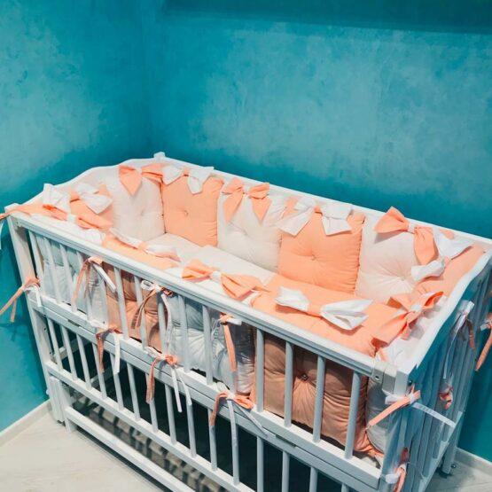 Set de lenjerie 12 pernute pentru pat standard Coral4