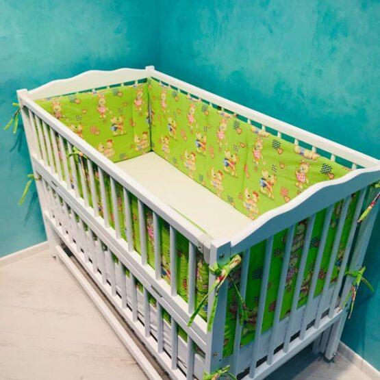 Borduri de protectie BT Dream Ursuleti pe verde1