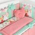 Комплект детской постели Asik Лиса с зонтиком